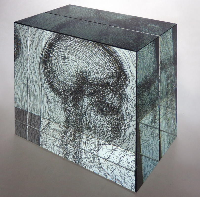 Glass Gellage No. XLVI, 2014, 30x30,5x18 cm (in 2 pieces), limited edition of 9 copies