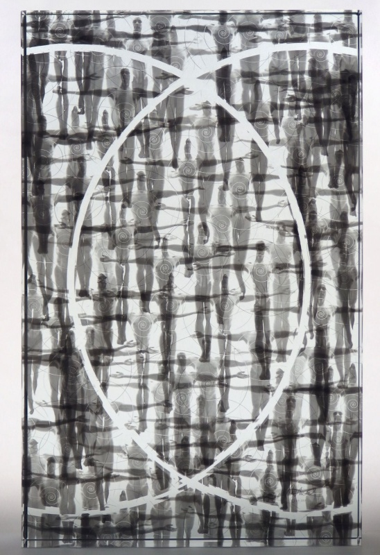 Glass Gellage No. XLV, 2014, 60x37x6 cm, limited edition of 9 copies